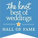 the Knot hall of fame badge